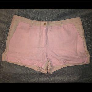 GAP pink and tan shorts